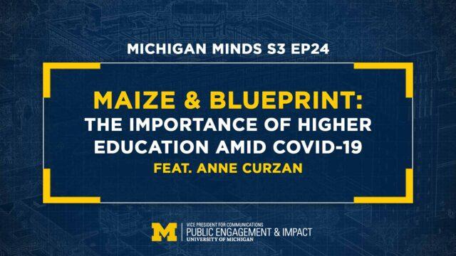 Maize & BLUEprint: Anne Curzan