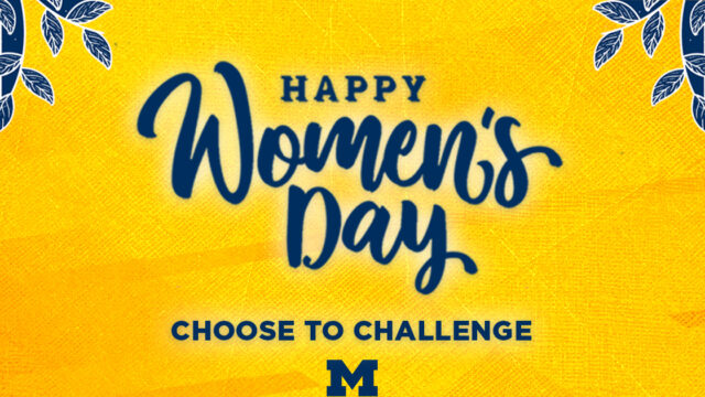 Happy Women's Day: Choose to Challenge