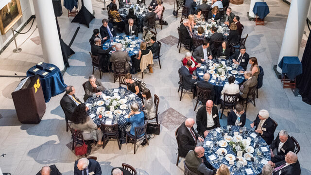 Distinguished Faculty awards dinner